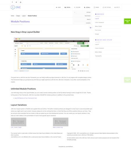 free joomla ecommerce template
