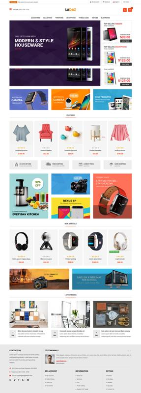 10 Free Opencart Themes for your next eCommerce Project
