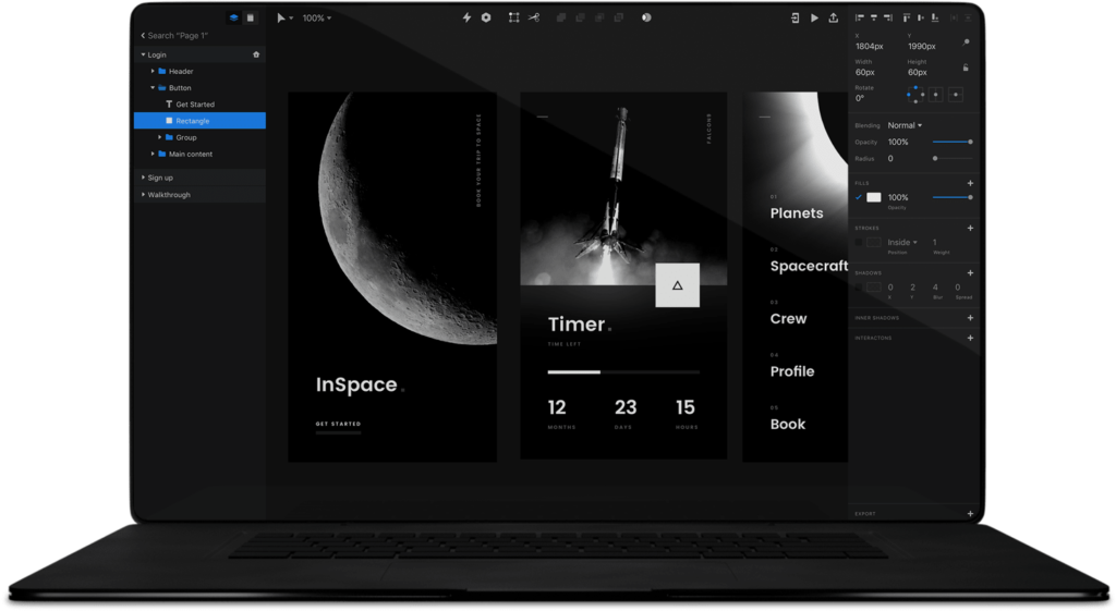 Invision Studio Apps