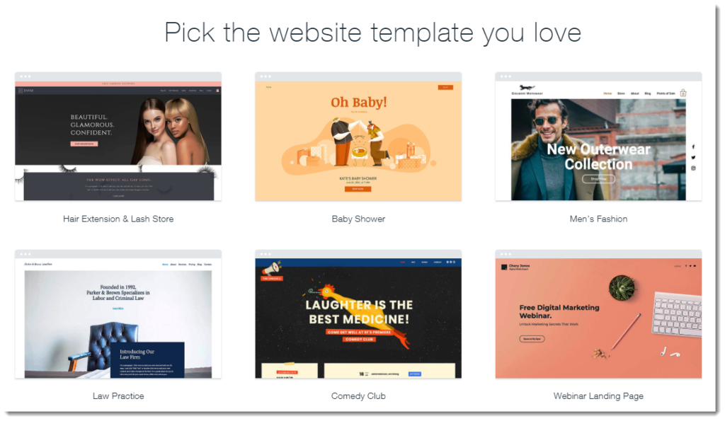 Free Website Designing with Wix