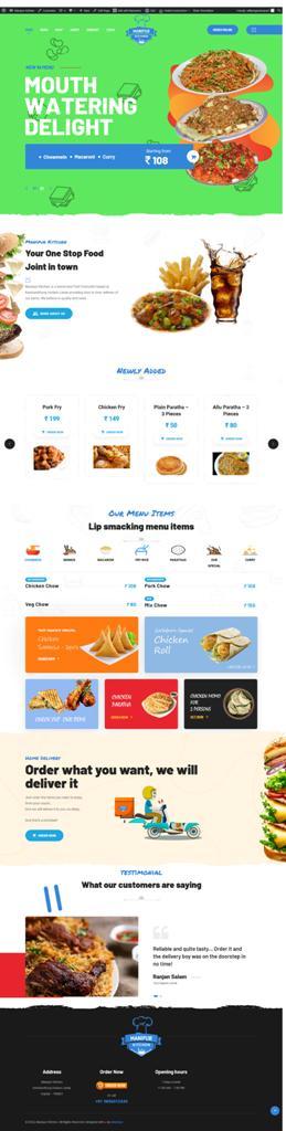 Manipur Kitchen Online Store and App