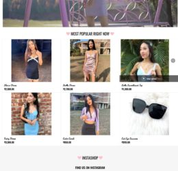 Plush Outfits Online apparel store